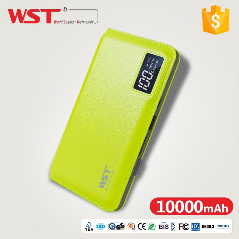 Led Torch Light Portable 10000mah smart power bank made in china