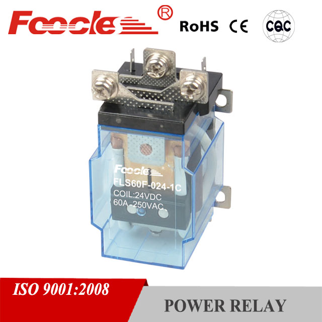 silver series reactive power control jqx 60a-24dc relay