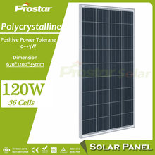 Best price power 12V 120w import solar panels from China