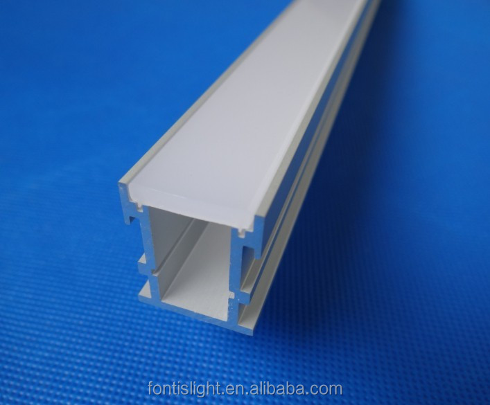 Outdoor/Indoor floor extrusion LED aluminum profile for LED strips ALP034