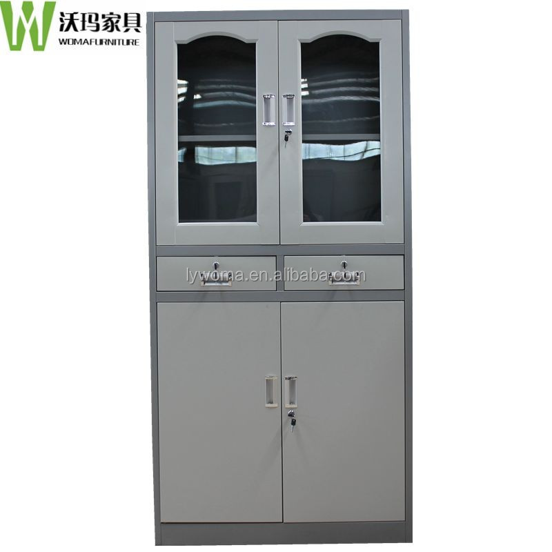 China Supplier Ironing Board Storage Cabinet Tall Cabinet With Drawers