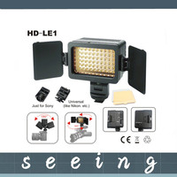 Photography HD-LE1 Hondak Video Light Studio led light for camera 18W 6300K 60 degree for DV Camcorder Camera