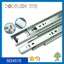 45mm Metal Drawer Ball Bearing Draw Slides Rail For Kitchen Cabinet