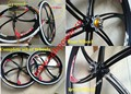 Magnesium alloy Front wheel and rear wheel,bike gas wheel ,Complete 26' wheel