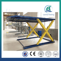 Lianhai PJSY2000 CAR SCISSOR PARKING LIFT WITH REMOTE CONTROL SYSTEM
