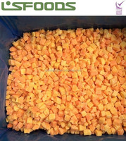 China IQF Frozen Sweet Potato frozen food in bulk