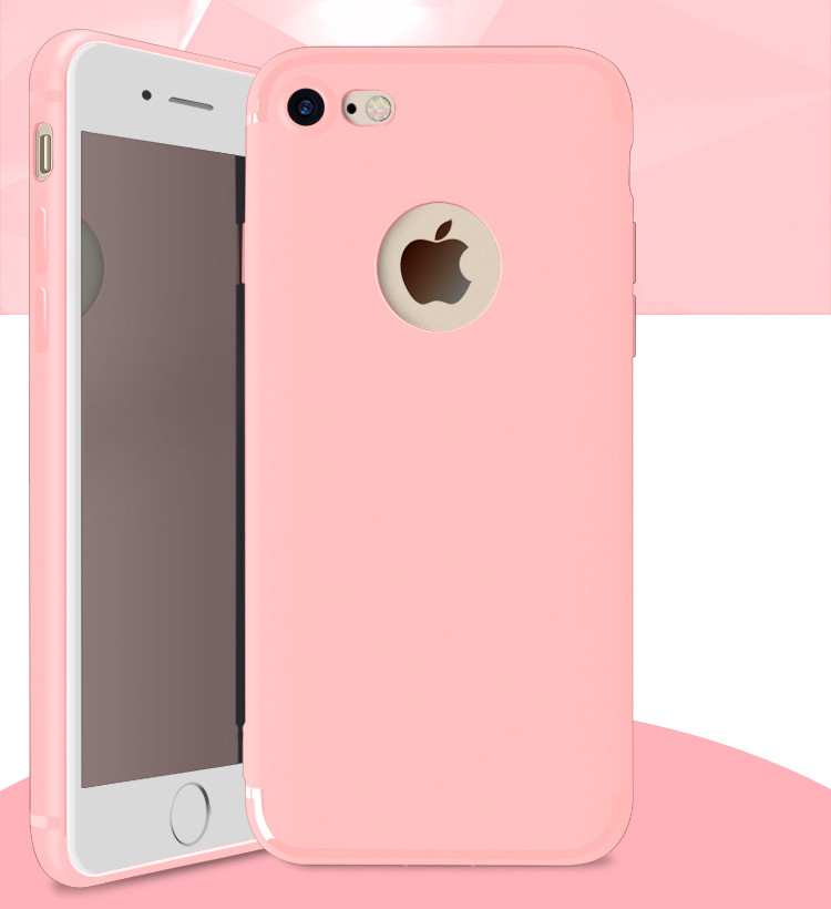 Good Price Soft Slim Silicone Matte Shockproof Case Cover For iPhone 7 plus