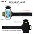 HAISSKY New Style Smartphone Sports Running Armband for iphone 6Plus/7 Plus 8 8plus X armband case