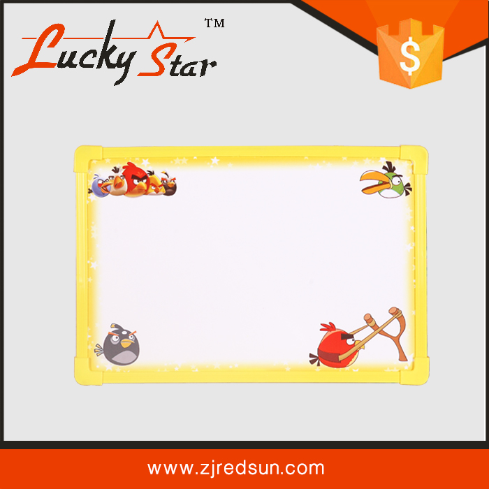 2015 HOT SELLING cartoon school notice writing board for kids