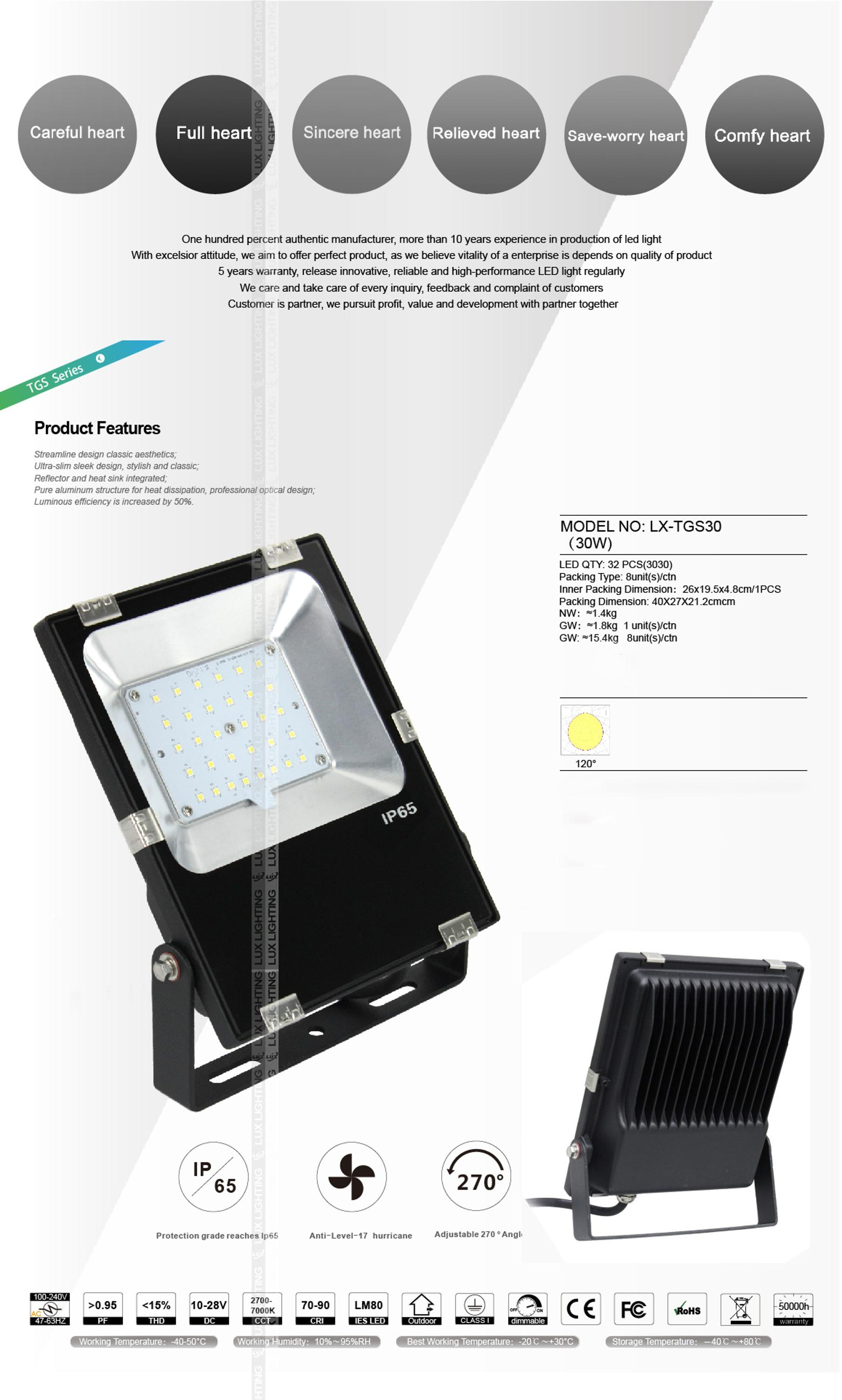 Best selling super bright outdoor led flood light suppliers