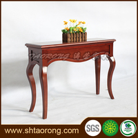 new classical bedroom sets cherry color console desk DS-020-01