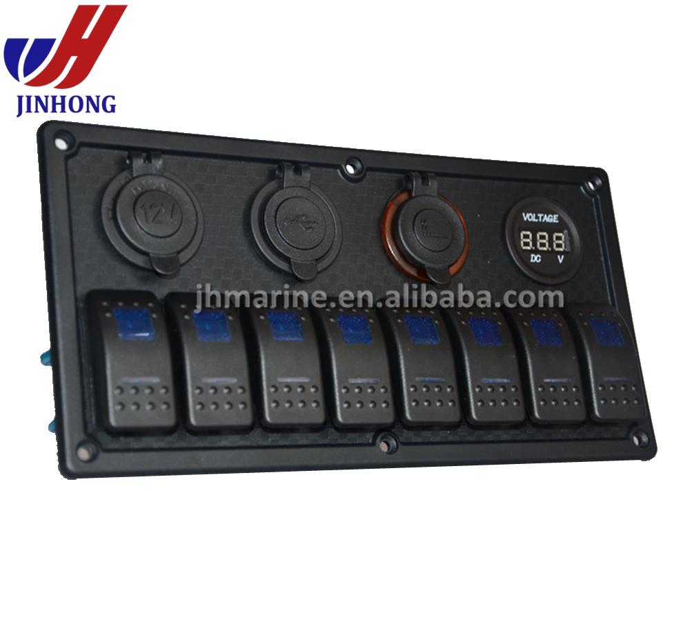 New Waterproof Custom 12v Boat Marine Rocker Switch Panel