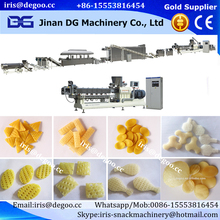 Automatic 3D oil fry pellet snacks machines corn snacks extruder processing line from Jinan DG Machinery