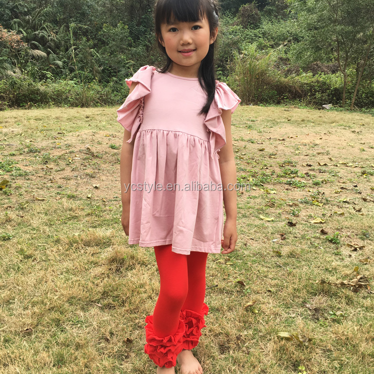Toddlers icing leggings for baby gown thanksgiving ,Wholesale good quality icing ruffle leggings for baby girl