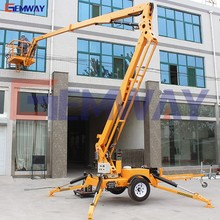 Aerial work lift tables crawler lift on sale