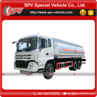 Dongfeng 6x4 drive type 21000 liter diesel transport trucks for sale