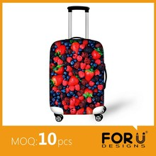 Creative travel trolley bags with spandex cover to protect new product in 2015