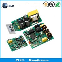 multi-media rigid FR-4 HIGH TG laminate multilayer printed pcb pcba
