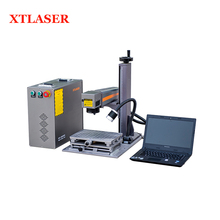 20w stainless steel sensor S/N marking logo fiber laser marking machine for sale