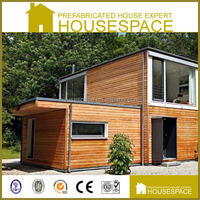 Panelized Demountable Foldable Energy Effective Cedar House