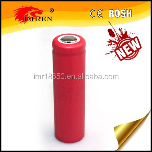 Wholesale original Sanyo 14500 1700mAh 3.7V rechargeable high capacity Lithium battery made in Japan