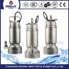 75 QJD deep well submersible pump with multiple impeller structure high lift