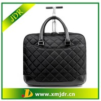 Durable and fashion ladies laptop trolley bag
