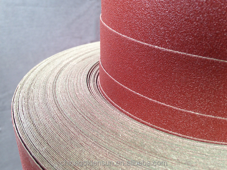 DV91low price Jumbo Roll of E-wt Kraft abrasives paper for metal can be transformed to sanding disc