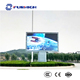 Outdoor USD LAN WIFI programable advertising message led display screen