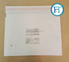 White Self adhesive Kraft paper Bubble envelopes bag Custom Logo Bubble Wrap mailing Bags