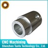 Steel custom precision cnc machining galvanized pipe carbon steel shaft sleeve with manufacturing