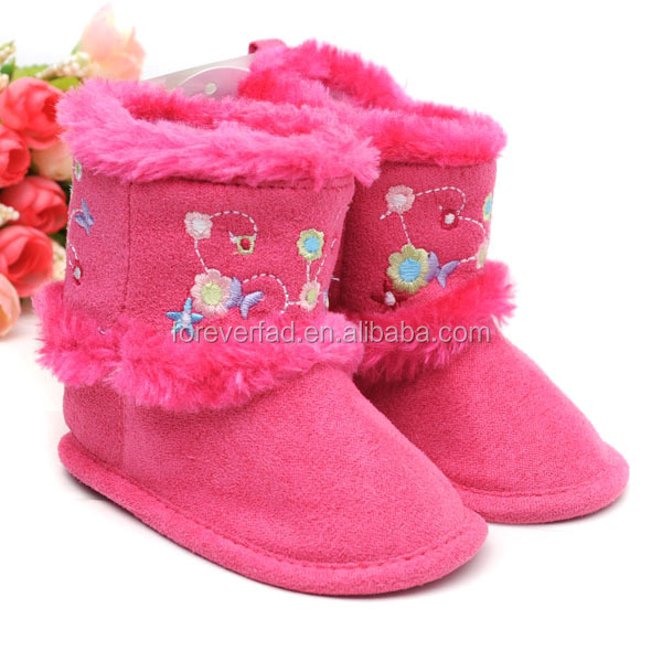 Discount Baby Snow Shoes Warm Cotton baby shoes First Walker Infant Boots
