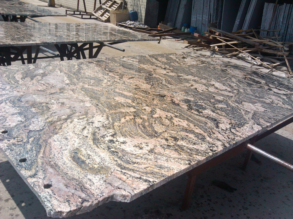 China Juparana Granite for out door and indoor tiles