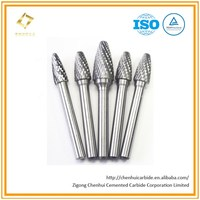 F1225m06 Hands Tools 6mm 1/4 inch Shank Tungsten Carbide Burrs