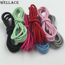 Wellace black white elastic Shoelace for sneakers high quality cheap laces new flat shoes shoestrings
