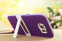mobile phone case for S6(G9206) mobile phone shell for S6 with stand protective case for s6