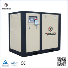 High pressure AC engine oil lubricated electric screw air compressor