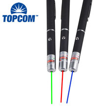 Waterproof Aluminum Powerful 5mw Red Blue Green Laser Pointer Pen