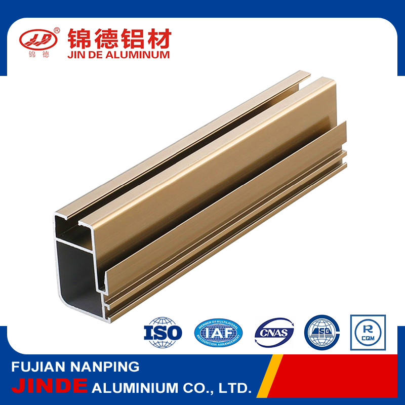Low price extruded aluminium frame for doors and windows