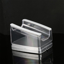 Acrylic stand anti-theft ring iphone display
