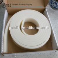 Gezi factory offer wholesaler of squeegee rubber for screen printing