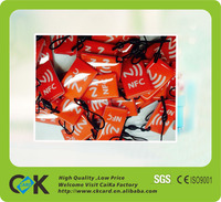 Custom cheap waterproof rfid tags with epoxy effect