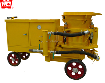 CE approved! 7m3/h wet gunite machine concrete spray