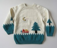 Hot sell children wear christmas jumper