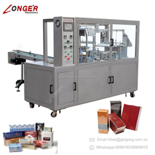 CE Certificate Tear Tape Condom Over Wrapping Perfume Bopp Film Packaging Tea Box Cellophane Packing Machine