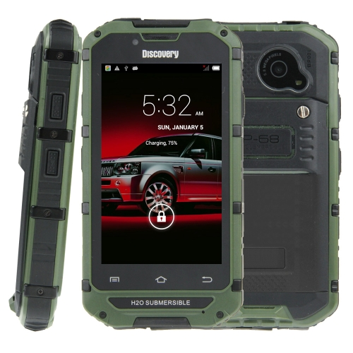 Somin V6+ Triple Proofing Phone, 512MB+4GB Life Waterproof Dustproof Shockproof Mobile Phone