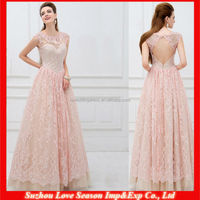 HE4059 mature women keyhole back pink floor length long slim girls party dresses