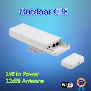 150Mbps outdoor wireless AP, POE Support + 2KMs Long Range wifi bridge/signal extender