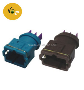 EV1 series female plug 3.5mm 2 way waterproof auto connectors