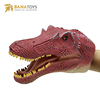 Rubber Realistic Dinosaur Hand Finger Puppet For Sale